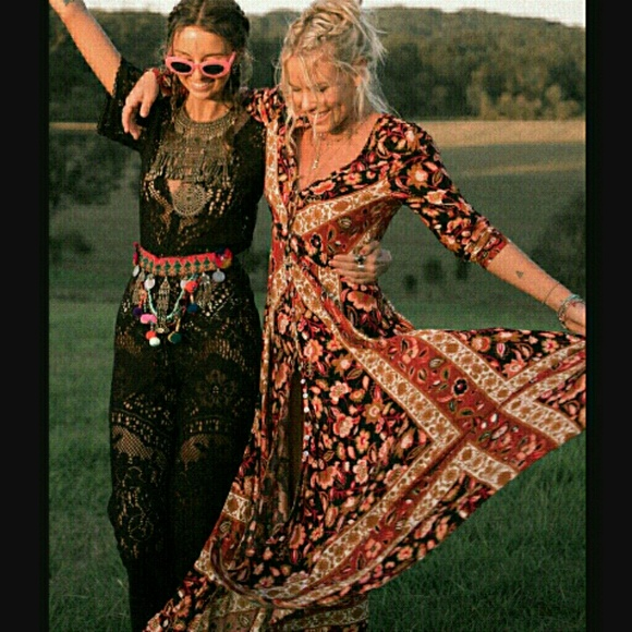 {Spell & The Gypsy} Lolita Gown in 70s Rust